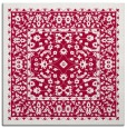 rug #1308591 | square red traditional rug