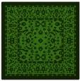 rug #1308619 | square light-green borders rug
