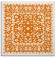 rug #1308691 | square orange natural rug