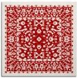 rug #1308735 | square red traditional rug
