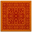 rug #1308739 | square red traditional rug