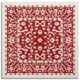 rug #1308743 | square red traditional rug