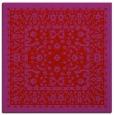 rug #1308747 | square red natural rug