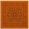 rug #1308759 | square red-orange traditional rug
