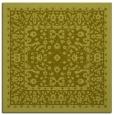 rug #1308815 | square light-green borders rug