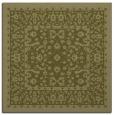 rug #1308827 | square light-green rug
