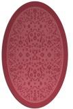 rug #1308938 | oval damask rug