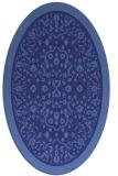 rug #1309146 | oval damask rug