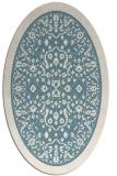 rug #1309156 | oval borders rug
