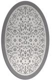 rug #1309174 | oval traditional rug