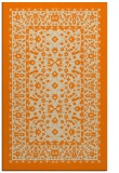 rug #1309211 |  orange traditional rug