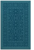 rug #1309279 |  blue-green damask rug