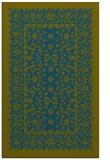 rug #1309287 |  blue-green borders rug