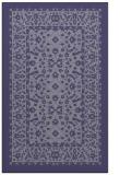 rug #1309299    blue-violet damask rug