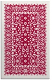 rug #1309327 |  red traditional rug