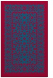 rug #1309331    blue-green borders rug