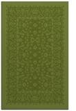 rug #1309339 |  green traditional rug