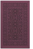 rug #1309455 |  purple borders rug