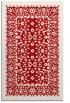 rug #1309471 |  red borders rug