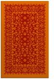 rug #1309475    red damask rug