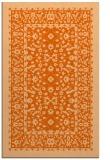 rug #1309491 |  red-orange borders rug