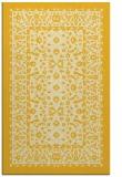 rug #1309531 |  yellow damask rug