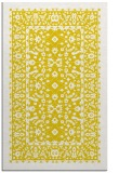 rug #1309539 |  yellow damask rug