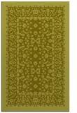 rug #1309551 |  light-green damask rug