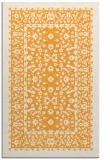 rug #1309575 |  light-orange damask rug