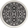 rug #1309585 | round borders rug