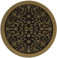 rug #1309607 | round black borders rug