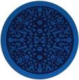 rug #1309612 | round damask rug