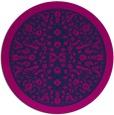 rug #1309615 | round pink borders rug
