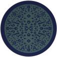 rug #1309620 | round damask rug