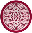 rug #1309696 | round damask rug