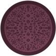 rug #1309757 | round damask rug