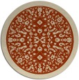 rug #1309801 | round damask rug