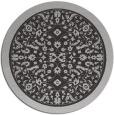 rug #1309803 | round red-orange borders rug