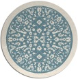 rug #1309892 | round damask rug