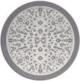 rug #1309910 | round damask rug