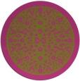 rug #1309927 | round pink borders rug