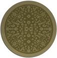 rug #1309931 | round light-green rug