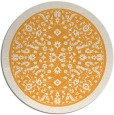rug #1309943 | round light-orange natural rug