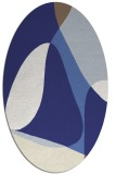 rug #1310985 | oval graphic rug