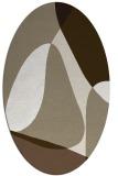 rug #1311001   oval abstract rug