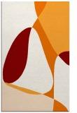 rug #1311267 |  orange retro rug