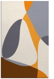 rug #1311415 |  light-orange abstract rug