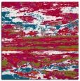 rug #1314111 | square red abstract rug