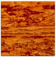 rug #1314207 | square orange abstract rug