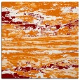 rug #1314211 | square orange abstract rug